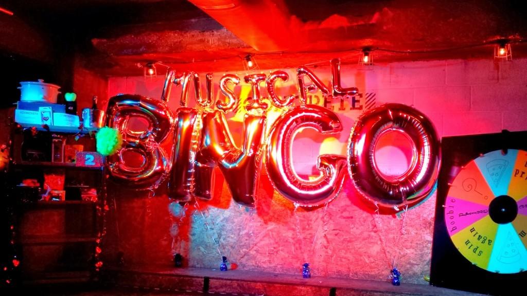 London Life: Musical Bingo @ Concrete, Shoreditch