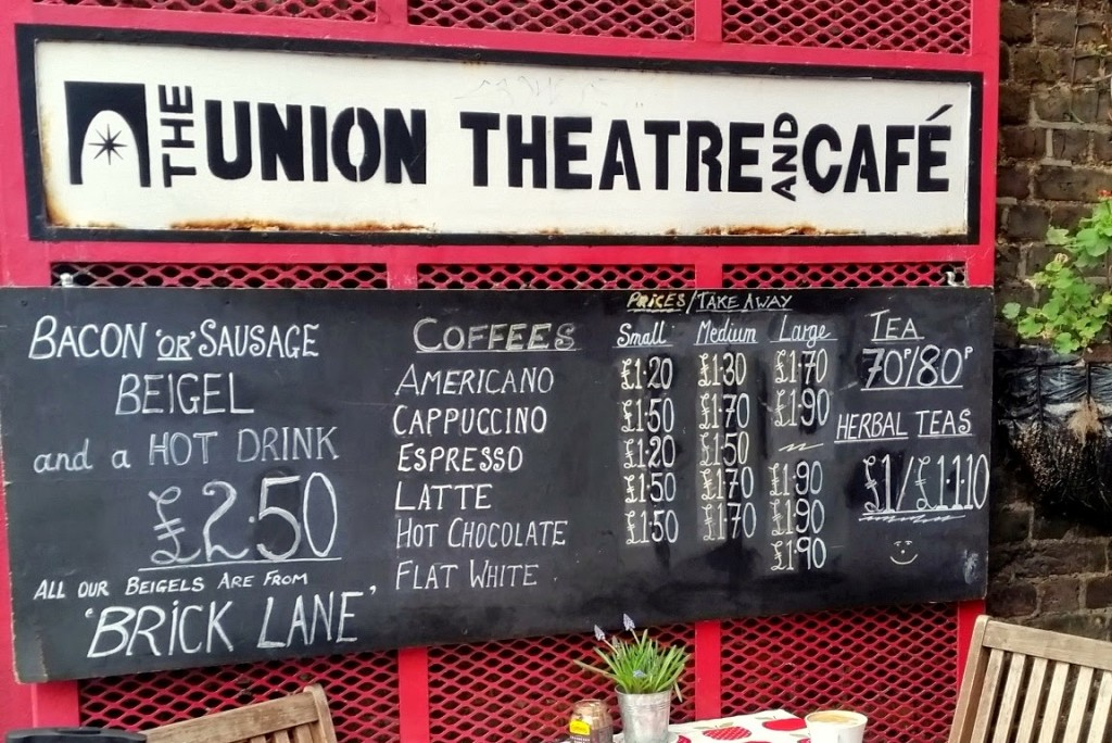 South of the River: Union Theatre Cafe & Borough Market