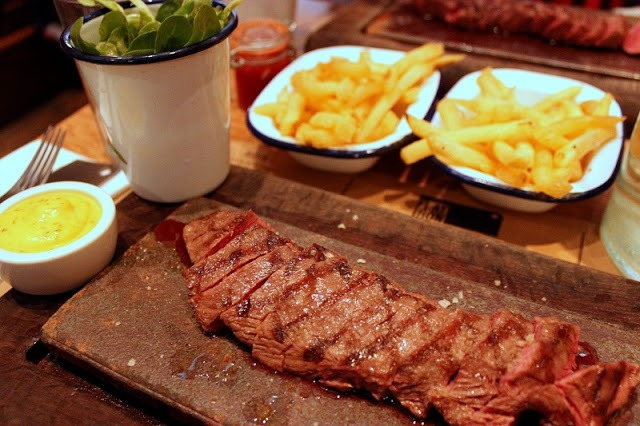 Flat Iron Steak, Soho, London
