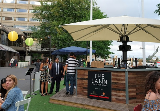 Guoman The Tower Hotel The Lawn bar