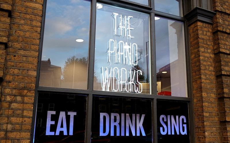Eat, Drink & Sing: The Pianoworks