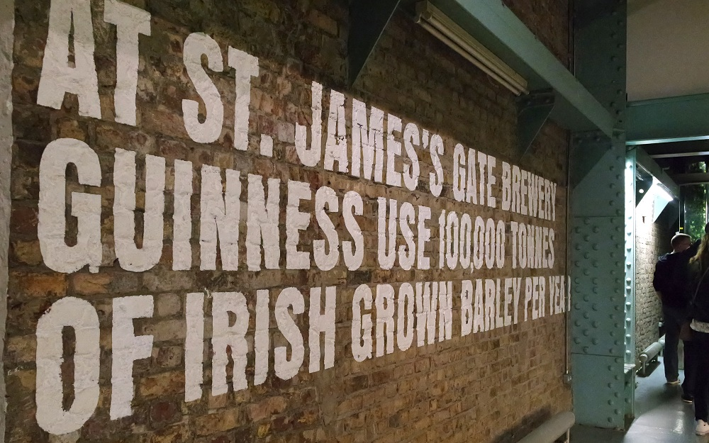 Dublin Guinness Storehouse Brewery Tour blog review