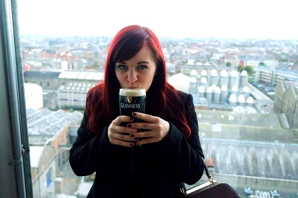 Guinness Storehouse Tour Gravity Bar Dublin