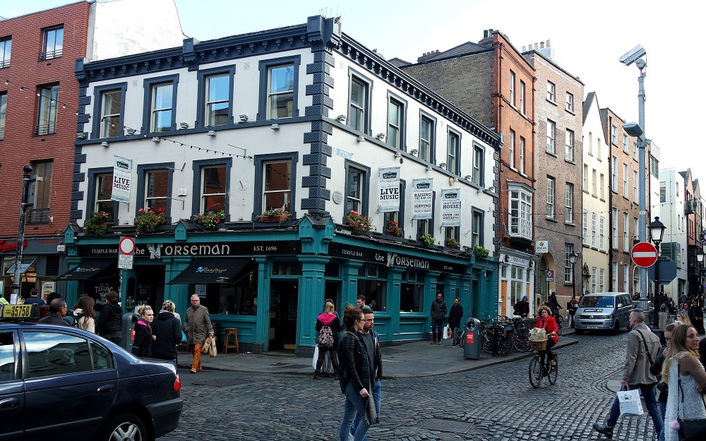 Dublin Temple Bar Norseman Pub