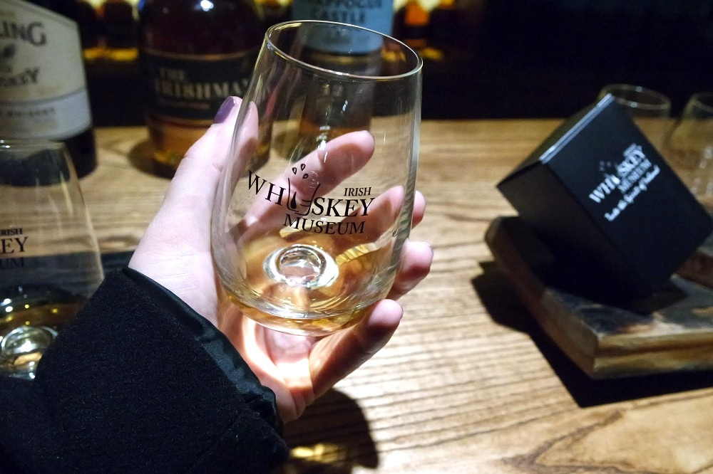 Irish Whiskey Museum Tour Tasting Souvenir Glass