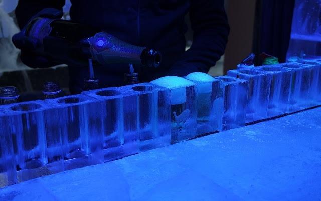 Icebar London Rocks Ice Bar Champagne