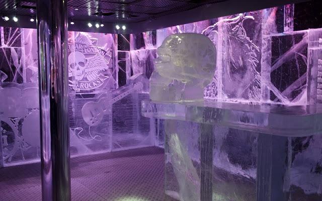Icebar London Rocks Ice Bar Design