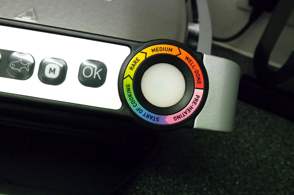 Tefal Optigrill Blog Review Cooking Level Indicator