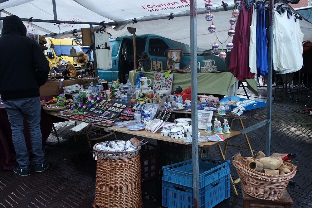 Amsterdam flea markets bric a brac