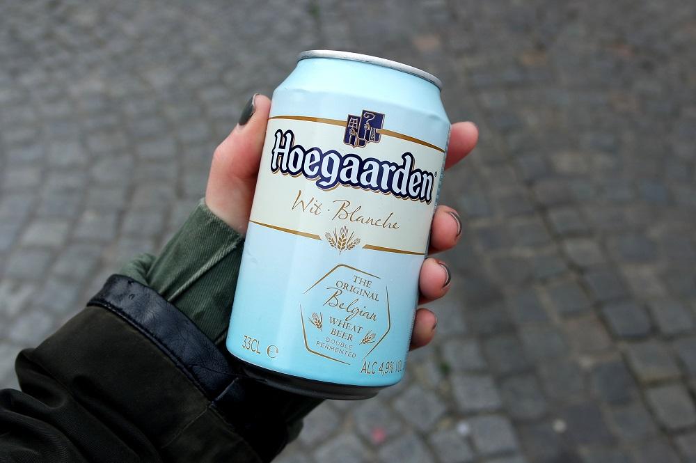 Hoegaarden beer in Bruges