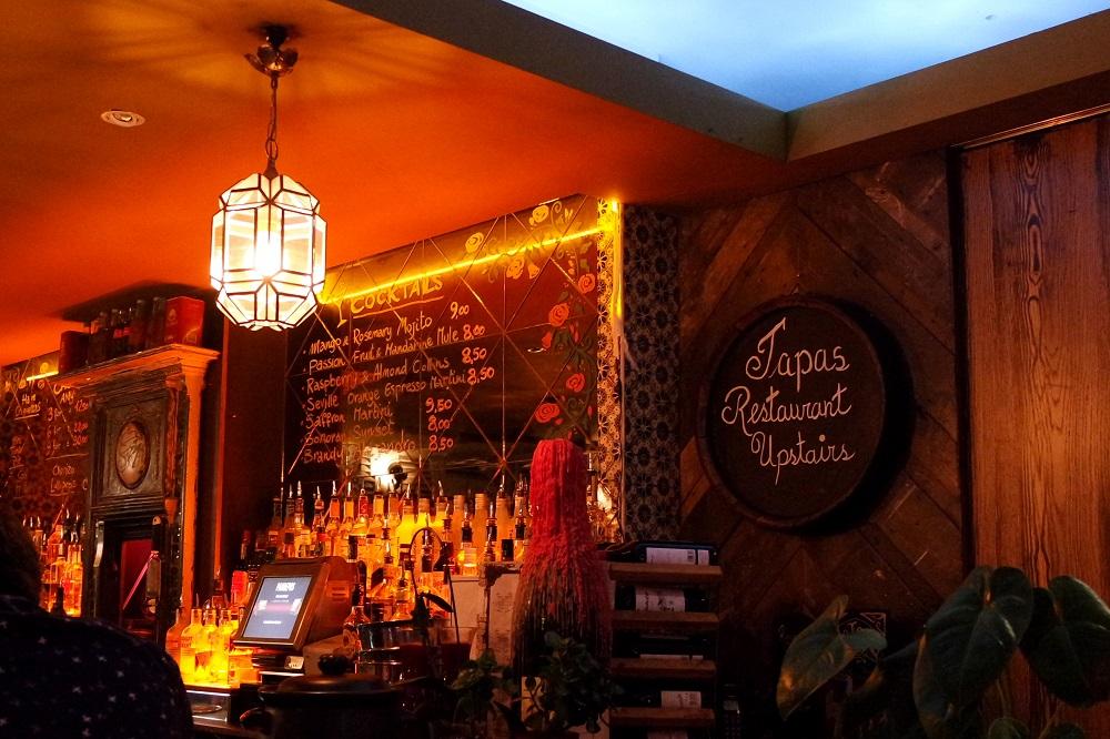 salvador and amanda tapas bar restaurant london