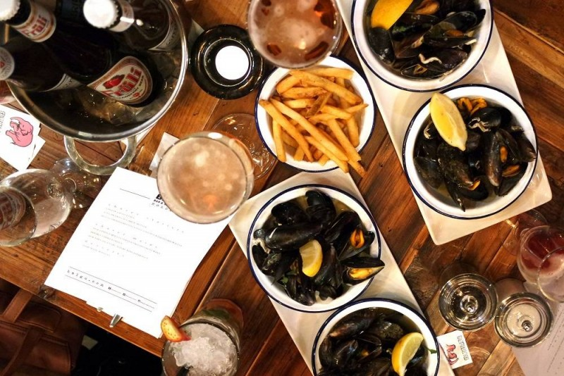 Food | Moules, Frites and Tasty Treats at Belgo Holborn
