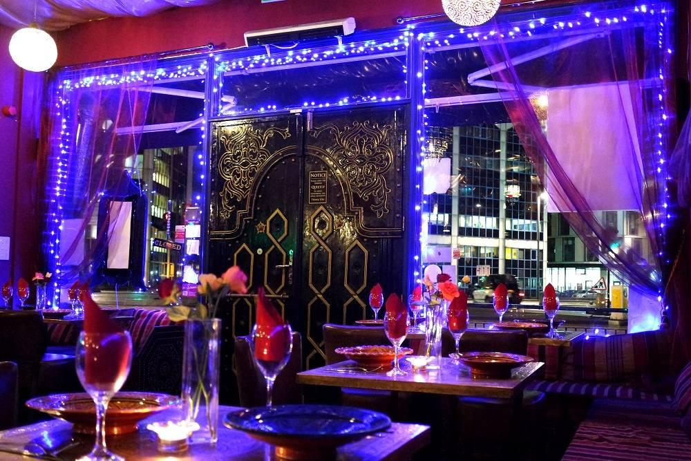 Dar Marrakech Moroccan Lebanese food in London