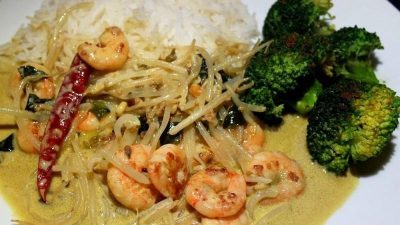 Thai Green Prawn Curry #MagicInEveryMeal
