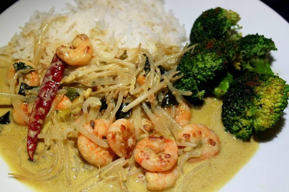 Thai Green Prawn Curry recipe