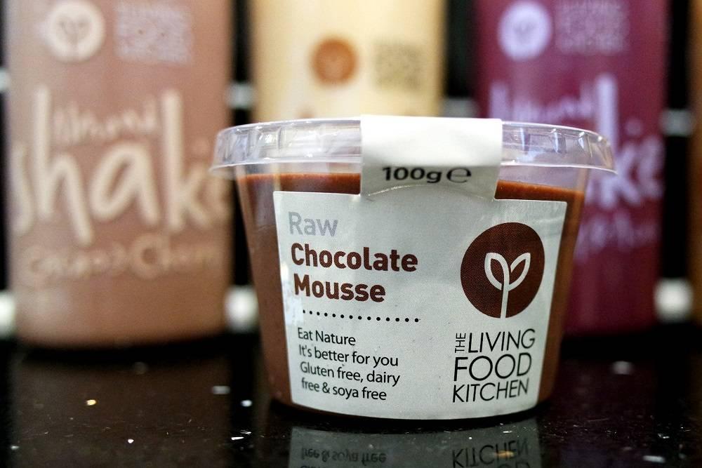 Living Food Kitchen Raw Chocolate Dessert