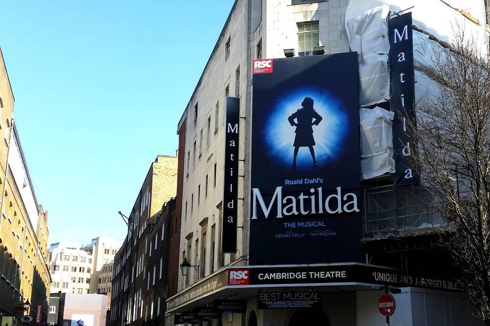Matilda The Musical Cambridge Theatre London