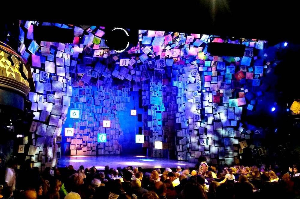 Matilda the Musical Set