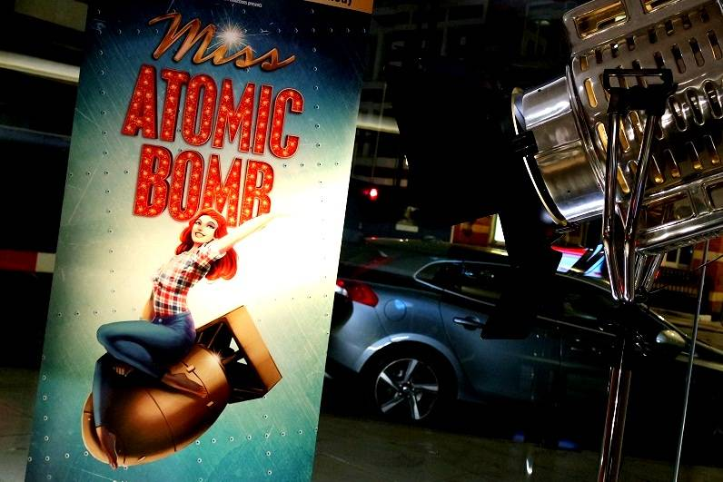 Miss Atomic Bomb London blog review