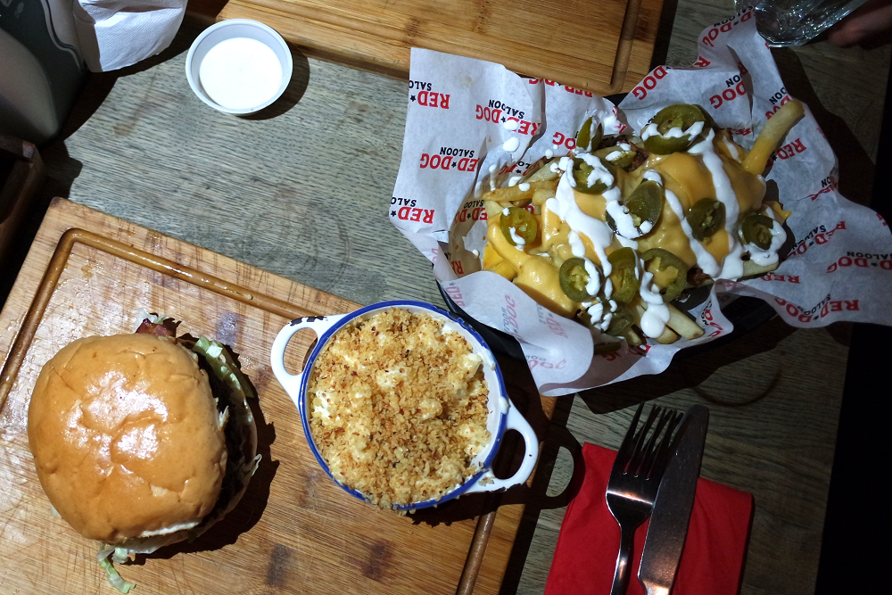 Red Dog Saloon London blog review