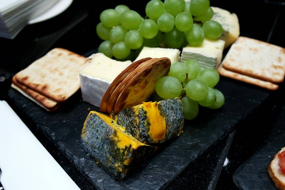 The Grosvenor London Executive Lounge Cheeseboard