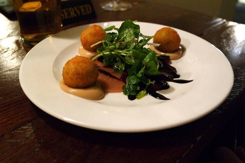 The Punchbowl Goats Cheese Croquettes
