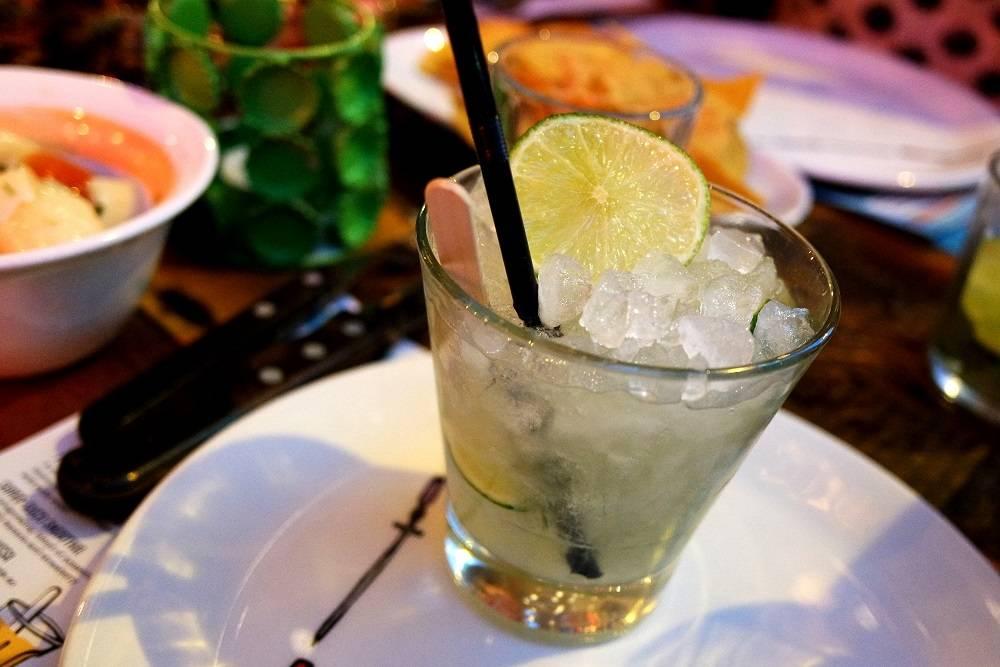 Cabana Brixton Caipirinha Brazilian Cocktail