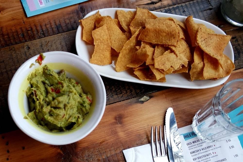 Cabana Brixton Guacamole Tortilla Chips