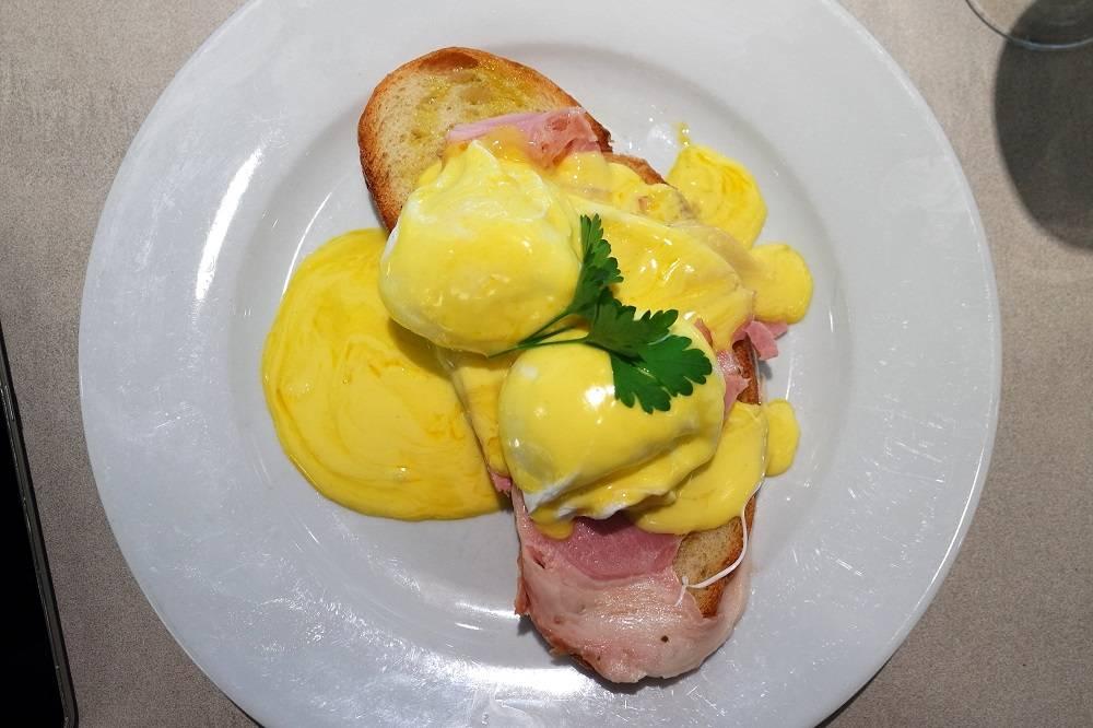 Carluccios Heathrow Breakfast Eggs