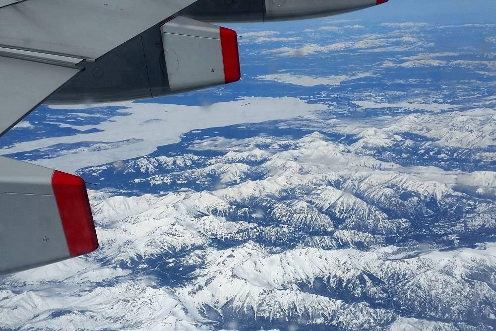 Flying British Airways to America