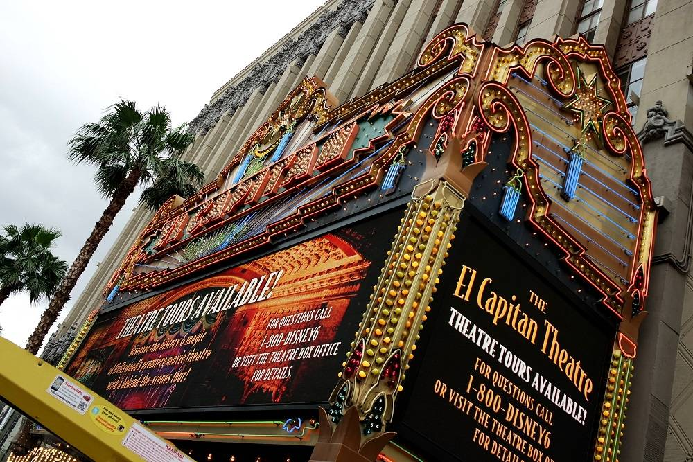 Hollywood El Capitan Theatre