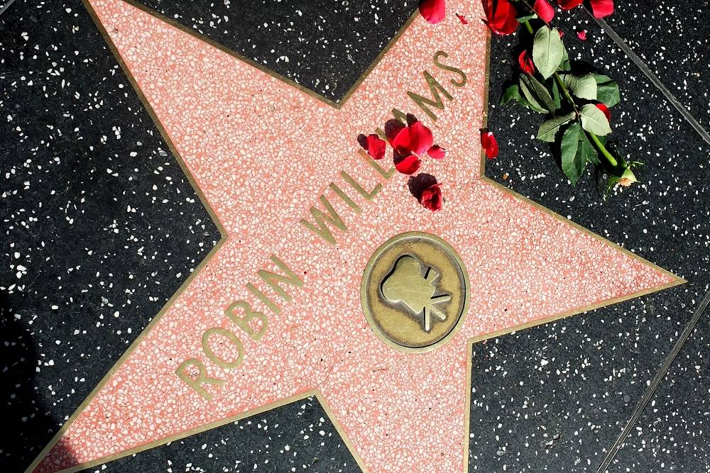 Hollywood Walk of Fame Robin Williams