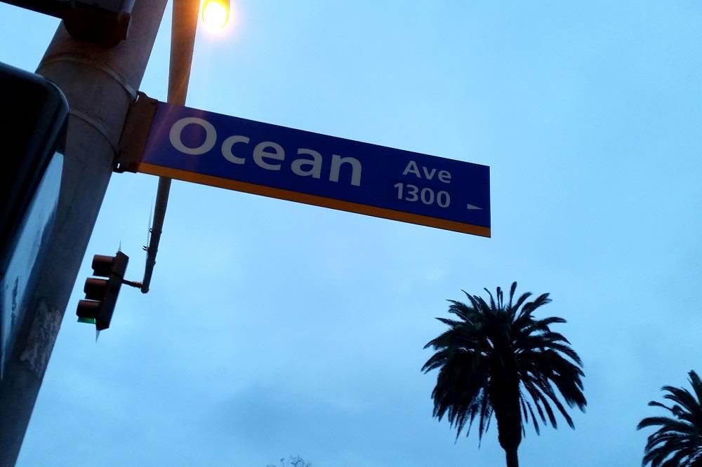 Santa Monica Ocean Avenue