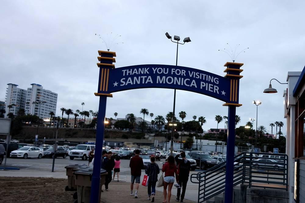 Santa Monica Pier Thankyou