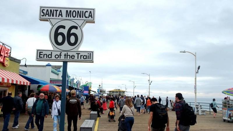 Finding Santa Monica