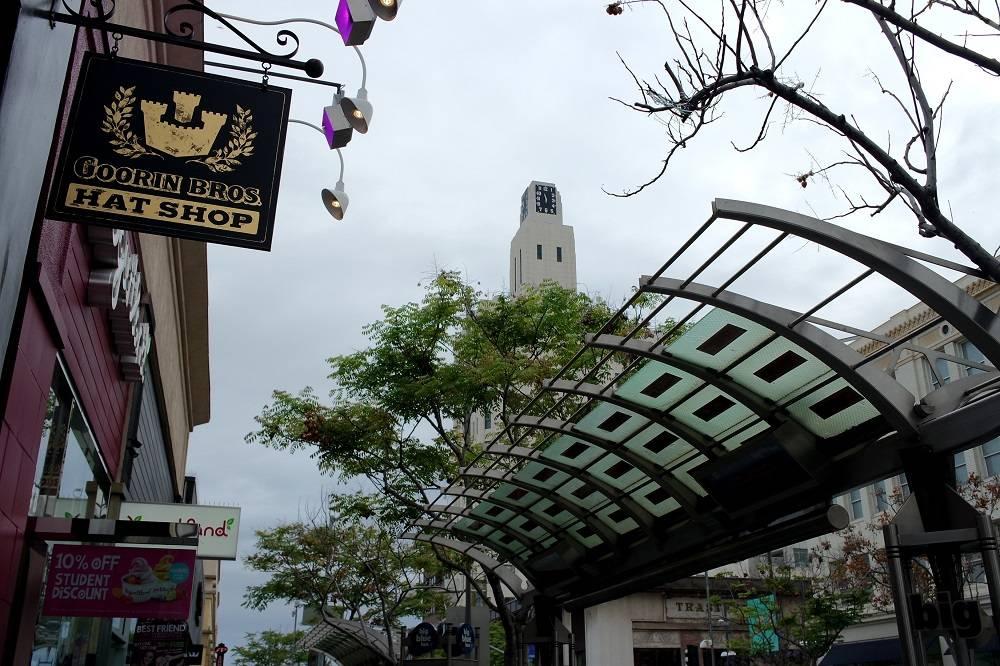 Santa Monica street, Los Angeles