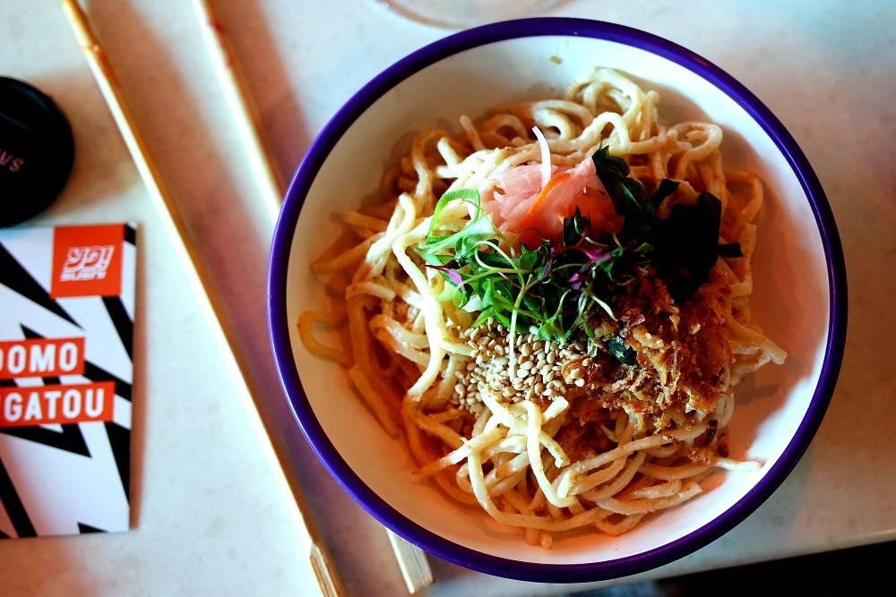 Yo Sushi New Menu Ramen Noodle Salad