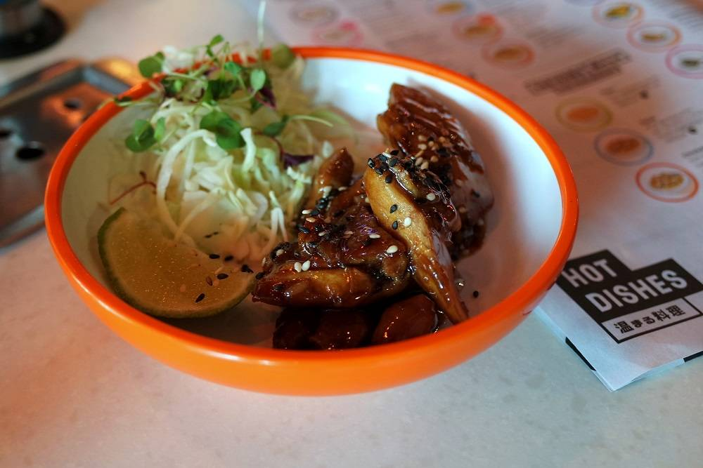 Yo Sushi Teriyaki Chicken