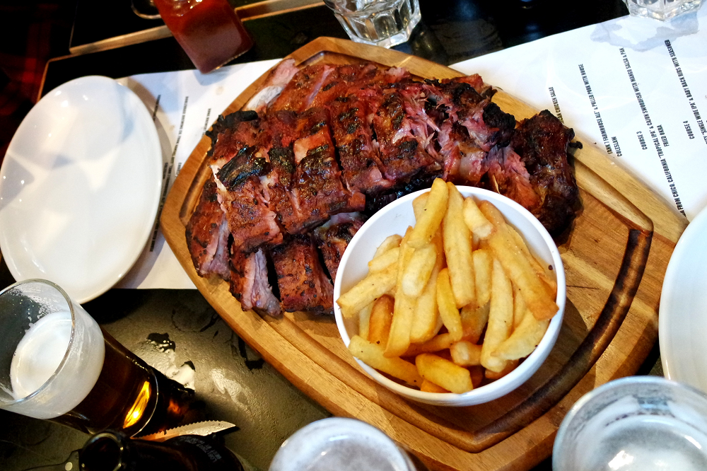 Bodeans Covent Garden Rack of Ribs