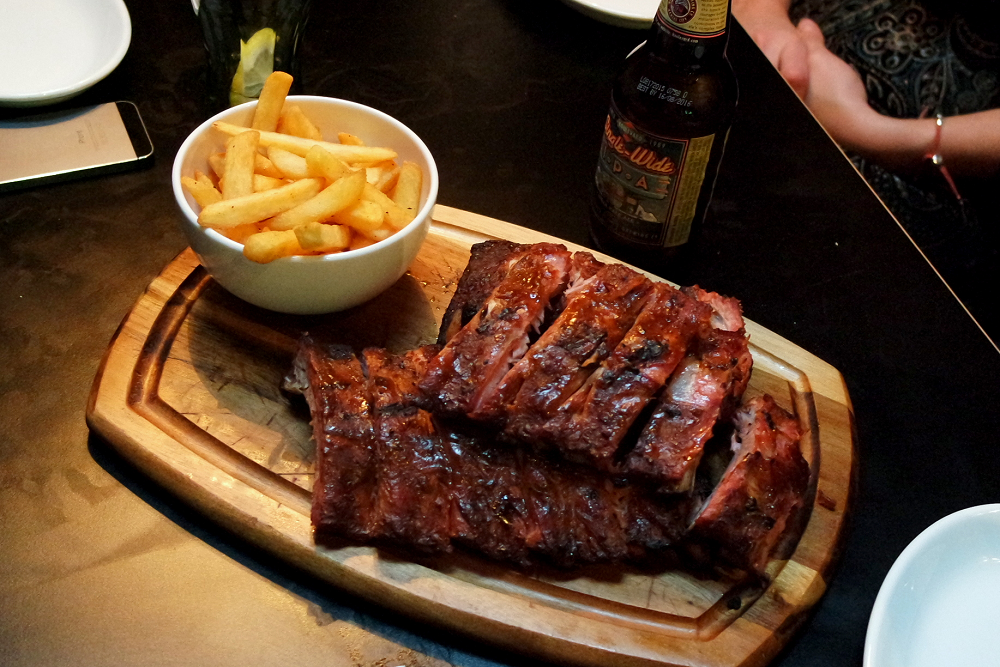 Bodeans Covent Garden Rib Rack