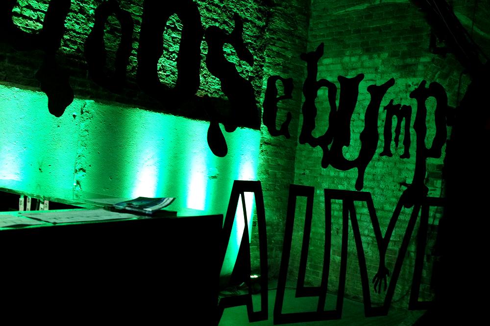 Goosebumps Alive Show