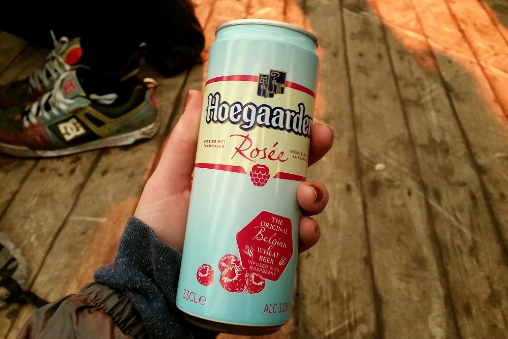 Groezrock Hoegaarden Raspberry Beer