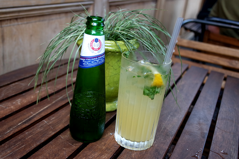 Peroni Infusions Lemon Beer Cocktail
