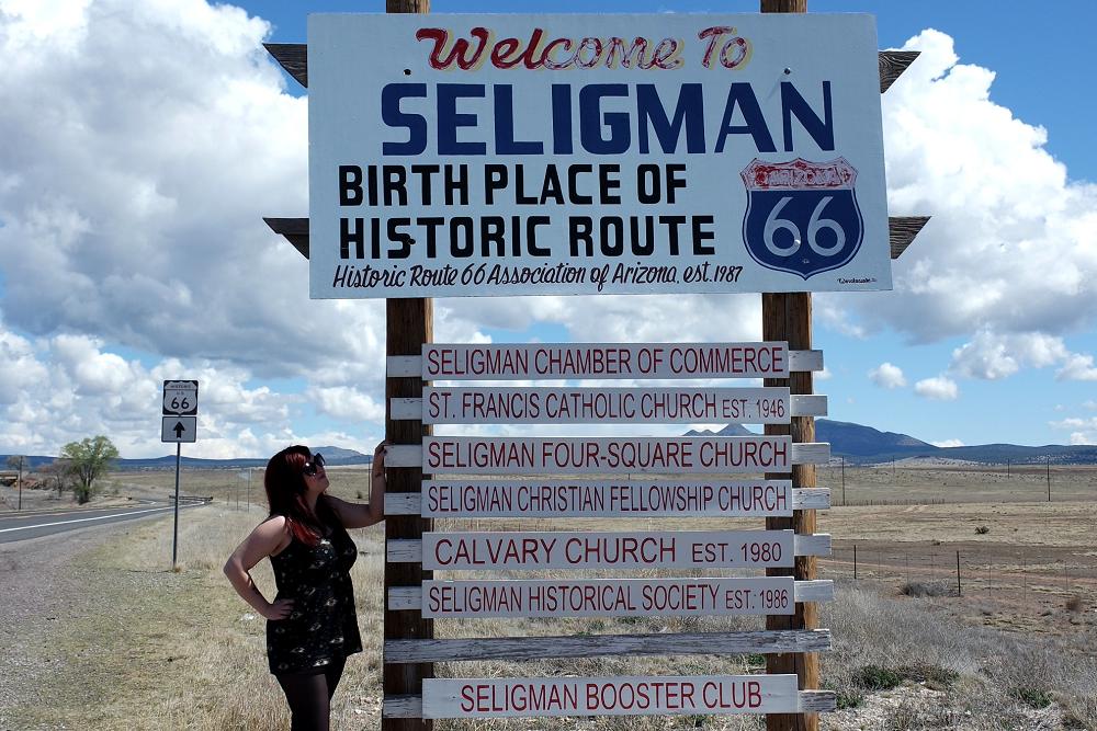 Route 66 Seligman visit