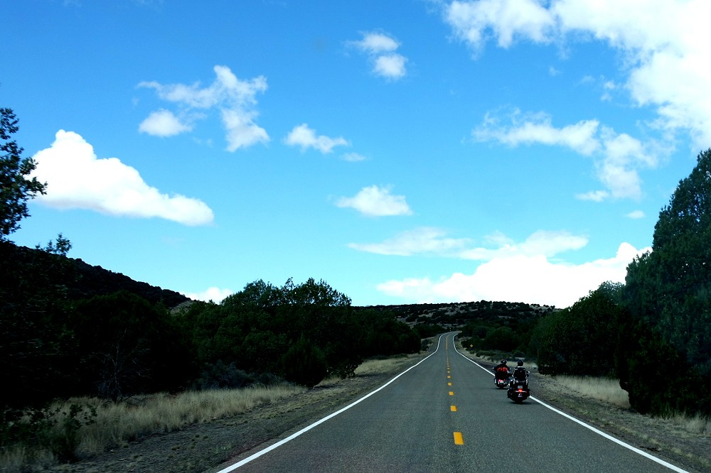Route 66 bikers