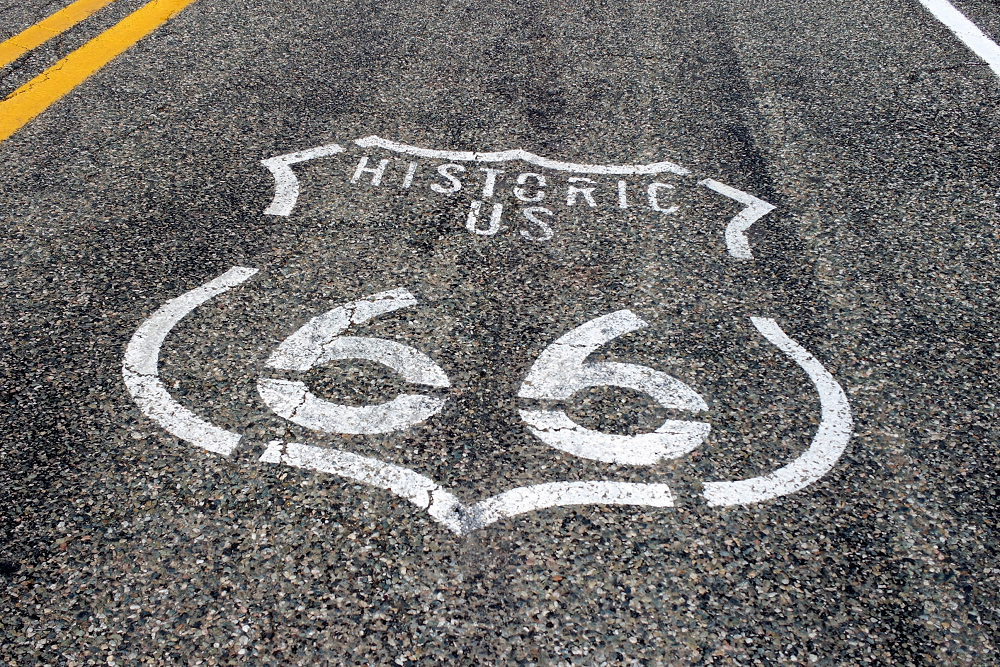Travelling Route 66
