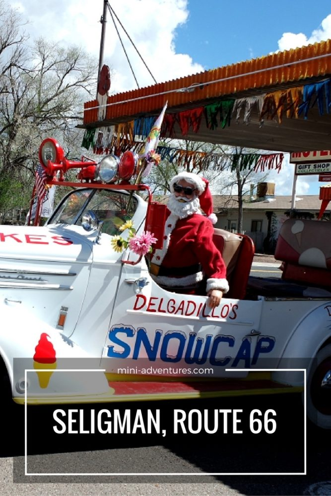 Experience old-school Americana at the birthplace of historic Route 66, Seligman, USA