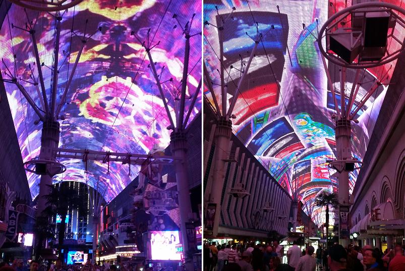 Vegas Freemont Street Experience
