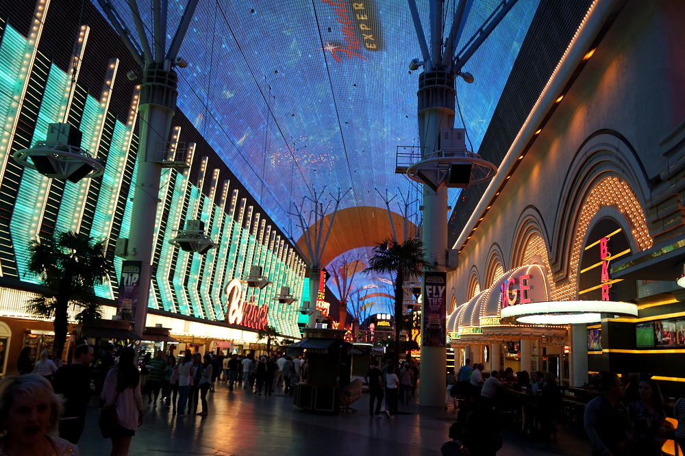 Vegas Freemont Street