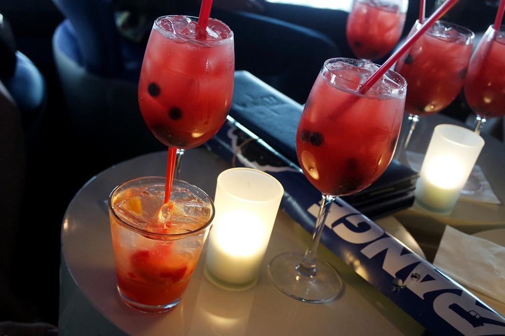 Vegas Stratosphere cocktails